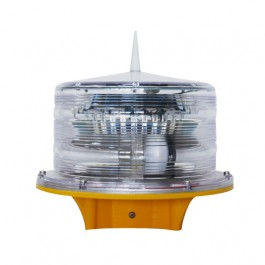 SOLAR AVIATION OBSTRUCTION LOW INTENSITY SAFETY LIGHT