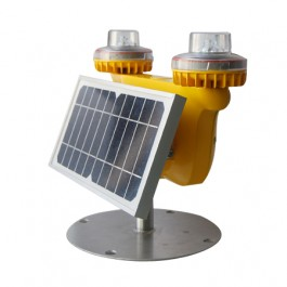 SOLAR AVIATION OBSTRUCTION LOW INTENSITY DOUBLE LIGHT