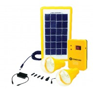 Solartec Global 3W Mini Power Kit with Optional Accessories